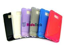 s line sline tpu case for Samsung galaxy s2,soft case for samsung i9100,soft cover for samsung galaxy s2 i9100