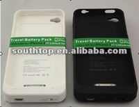 High Quality 1900 mAh External Battery Pack Portable Power Bank Case Charger For Apple iPhone 4S iPhone 4