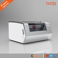 40W Credit card making machine/CO2 Glass Tube Mini Laser Engraving Machine