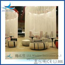 Various colors elegant fringe curtain