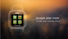 SNOPOW W1S 3G transflective screen IP68 waterproof android 4.4 dual core 1G RAM 8G ROM v8 smart watch