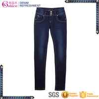 High waist colombian butt lift jeans leggings wholesale girls sexy tight jeans pants AG003