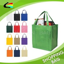 Logo Printing Solid Color Eco Non-Woven Big Shopper
