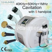 2015 40khz+50khz+1mhz Cavitation Slimming Device / ultrasound device for home use / multi machine