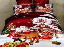 Wholesale unique design beautiful embroidered 100% cotton Christmas bedding sets disposable bed sheet