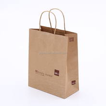 Professional manufacturer brown kraft paper bags in China