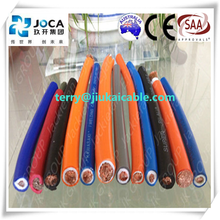 CE approved welding cable specifications flexible copper 16mm2