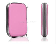 portable 2.5 inch eva hard disk leather case
