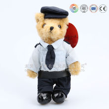 ICTI audits manufacturer OEM/ODM custom bear in uniform