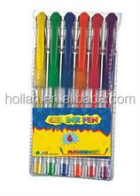 Fluorescent Color Gel Ink Pen Set