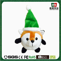 Animals modern cartoon plush stuffy toy christmas pendant plush toy