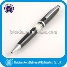 2014 rotating metal ballpoint pen, acrylic color changing pen, cooper pen