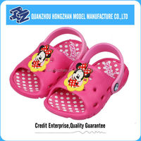 Soft eva injection baby shoe mold