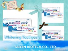 OBM/OEM/ODM/HALAL Whitening Toothpaste