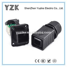 hecho en china usb hembra para ethernet rj45 macho adaptador rj45 cable conector