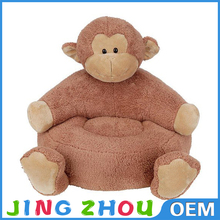 2015 Crazy Hot !!! Stuffed baby animal sofa chair/soft baby animal sofa chair/plush baby animal sofa chair