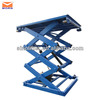 Electric hydraulic motorcycle lift table