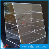 Cakes Cupcakes Patisseries Food Donuts Pastry's Acrylic Display Case / Cabinet