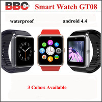 Smart Watch GT08 Color Clock Sync Notifier With Sim Card Bluetooth Connectivity Android Smartwatch Watch