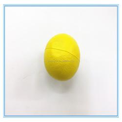 hi quality pu foam lemon fruit stress ball ,squeeze ball