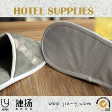 Hotel amenity supply high quality terry towel slipper terry thong slippers closed toe hotel slipper
