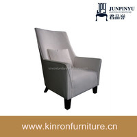 Restaurant upholstered dining chair with arms/armchair for restaurant