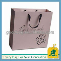 brown paper gift bags with handles,MJ-0807-K,china manufactory
