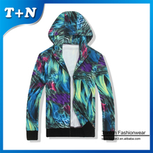Tonton fashionwear OEM 100 polyester sublimation printing hip hop hoodies