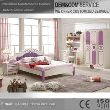 Contemporary latest cheap wooden bedroom set