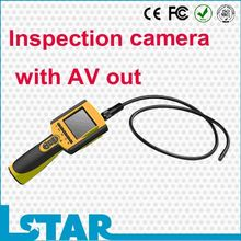 Portable waterproof video inspection with AV out function