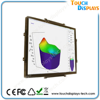 "15"" 10point project capacitive touch screen monitor support Linux android/windows system"