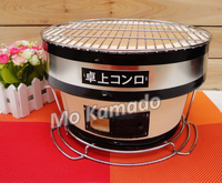 Japanese round charcoal bbq grill ceramic oven