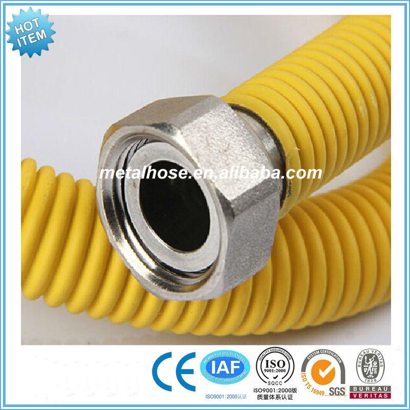 QQ20150304115823 QQ20150304112346 QQ20150304112420_  sc 1 st  Alibaba & Yellow Gas Fittings Pvc/pe Coated Metal Corrugated Pipe/flexible ...