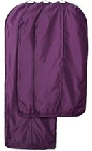 Garment Bag Set of 3 Pink Closet Clothes Covers Travel Storage
