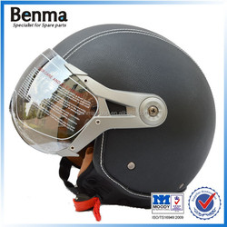 High quality leather helmet for motorcycle
