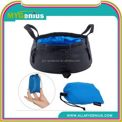 dry duffel bag ,H0T073 wholesale outdoor camping bucket nylon folding portable wash basin never leak