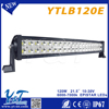 Latest 21.5' 120W LED WORK LIGHT BAR 10-30DC lamp battery powered Led Work Lights Bar boat mini motorcycle