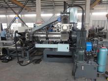 2 stage film recycle granule machine for printed waste bags/film