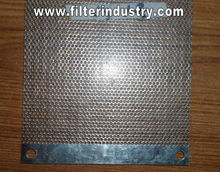 Perforated metal mesh for Yamaha motorcycle air filter