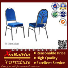 tubular steel aluminum square tube hotel steel banquet chairs