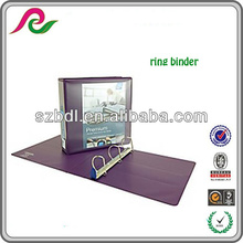 PVC free polypropylene cover A3 ring binder
