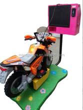 3D children swing TT motorcycle game machine simulator racing motor arcade game machine for kids