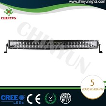 Chinyun competitive price curved led flood work light for wholesale 300W 31.5 inch