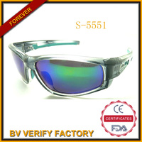 trade assurance 2015 mirror lens wraparound Sunglasses &sports sunglasses