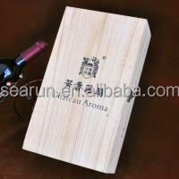 2015 New Listing 1 Pack Wood Wine Box Crate