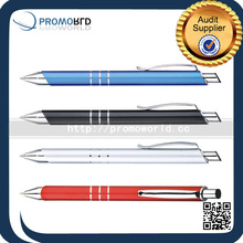 Logo Customized New Model Roller Metal Novelty Ball Top Point Pen Advertising Ball Pen