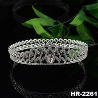 Hair accessories accessory fashion jewellery jewelry rhinestone big pageant crowns for sale
