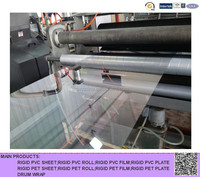 for vacuum forming,printing rigid PET sheet,transparen PET film for thermoforming