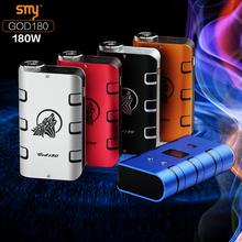 2015 hot selling item 180w god180 mod, magic puff e-cigarettes/