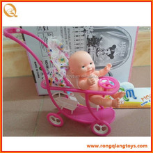 FUNNY MINI INFANT Doll with baby stroller DO93102017